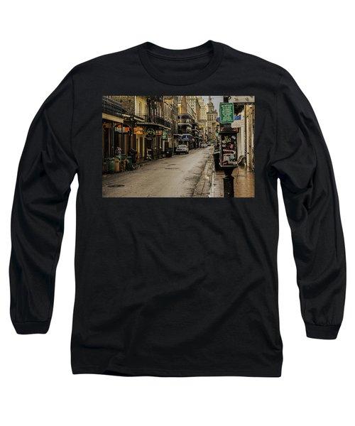 Bourbon Street By Day Long Sleeve T-Shirt