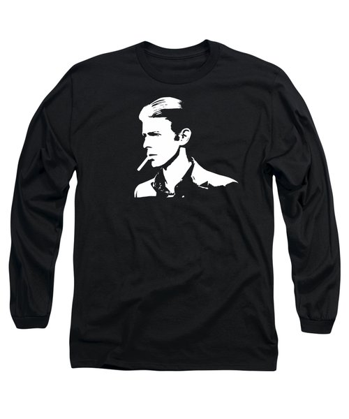 Bowie Pop Art Long Sleeve T-Shirt
