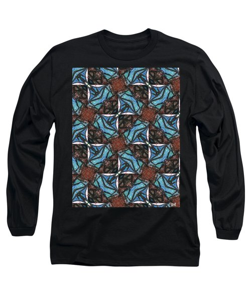 Box Of Chocolates Long Sleeve T-Shirt by Maria Watt