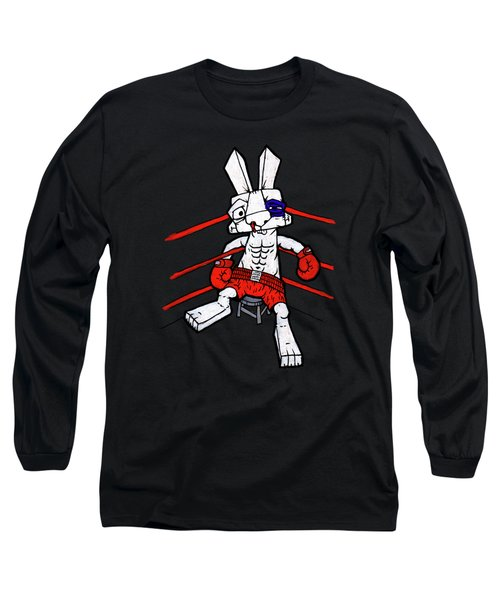 Boxer Bunny Long Sleeve T-Shirt
