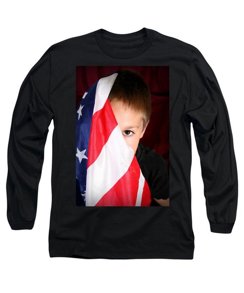 Boy And His Country Long Sleeve T-Shirt