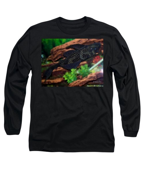 Long Sleeve T-Shirt featuring the photograph Bozo by Betty Northcutt