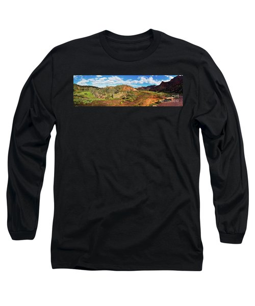 Long Sleeve T-Shirt featuring the photograph Bracchina Gorge Flinders Ranges South Australia by Bill Robinson