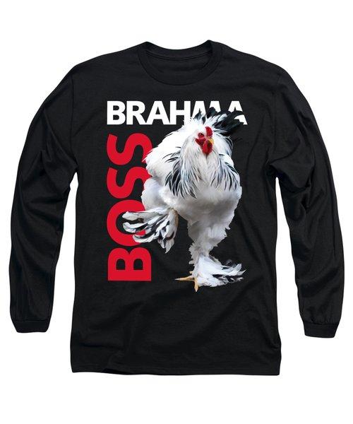 Brahma Boss T-shirt Print Long Sleeve T-Shirt