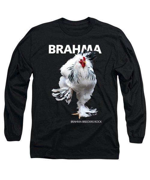Brahma Breeders Rock T-shirt Print Long Sleeve T-Shirt
