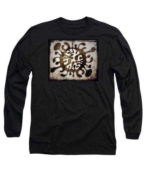 Brain Illustration Long Sleeve T-Shirt