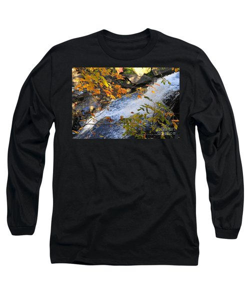 D30a-18 Brandywine Falls Photo Long Sleeve T-Shirt