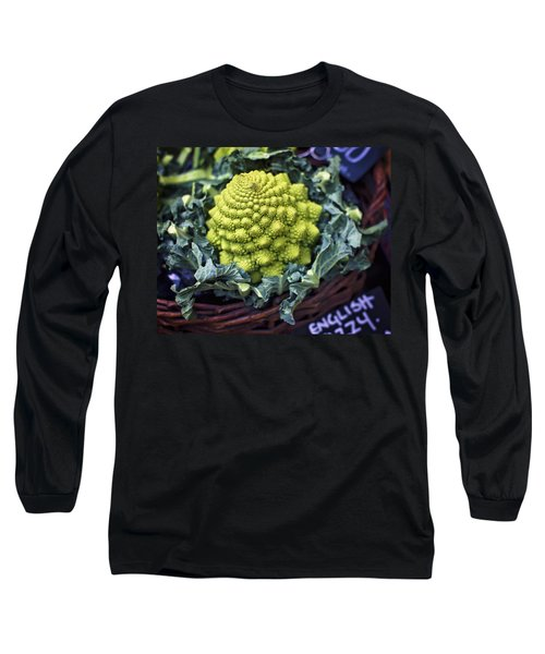 Brassica Oleracea Long Sleeve T-Shirt by Heather Applegate
