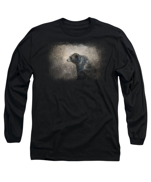 Braving The Storm Long Sleeve T-Shirt by Jai Johnson
