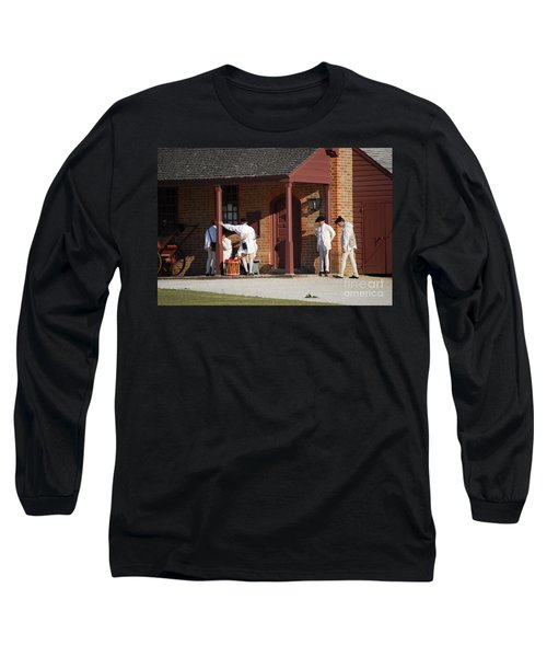 Long Sleeve T-Shirt featuring the photograph Break Time by Eric Liller