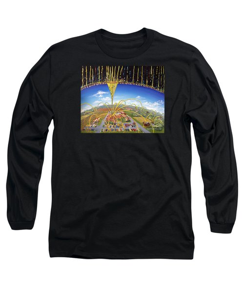 Breakthrough Long Sleeve T-Shirt by Nancy Cupp