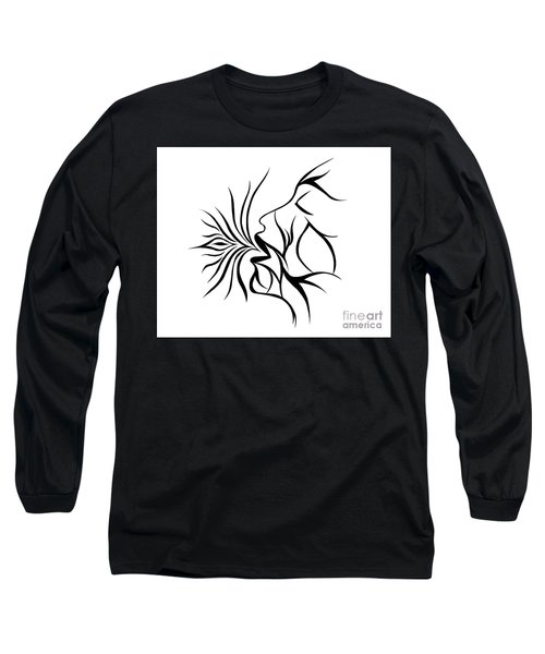 Breath Easy  Long Sleeve T-Shirt by Jamie Lynn