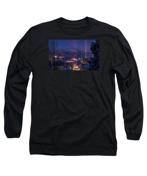 Breckenridge Phenomenon Long Sleeve T-Shirt by Michael J Bauer