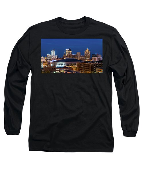 Brew City At Dusk Long Sleeve T-Shirt