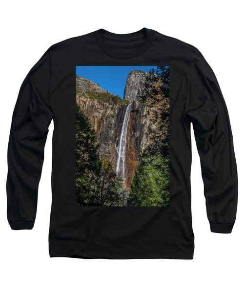 Bridal Veil Falls - My Original View Long Sleeve T-Shirt