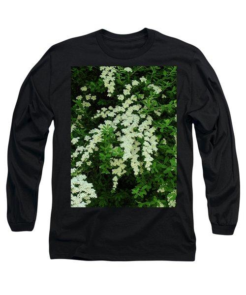 Bridal Wreath Long Sleeve T-Shirt