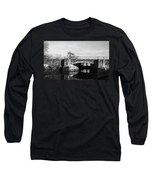 Bridge To Heaven Long Sleeve T-Shirt by Jose Rojas