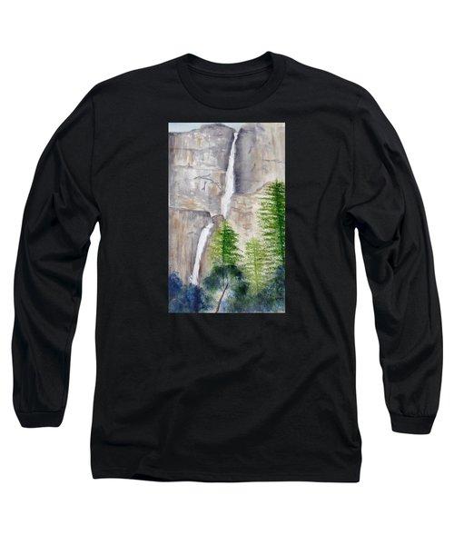 Bridal Veil Waterfall Long Sleeve T-Shirt