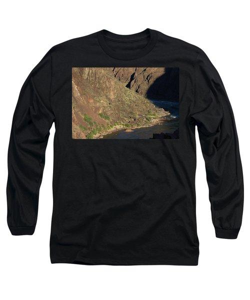 Bright Angel Trail Near The Colorado River Long Sleeve T-Shirt