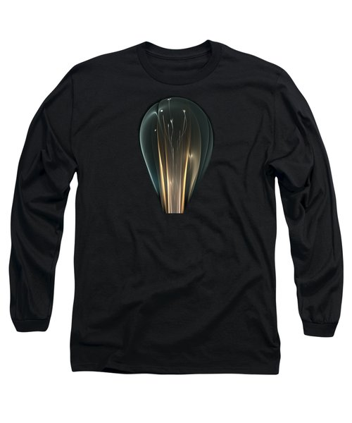 Long Sleeve T-Shirt featuring the digital art Bright Idea by Anastasiya Malakhova