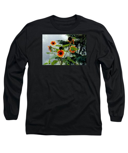 Bright Spots On A Foggy Morning Long Sleeve T-Shirt