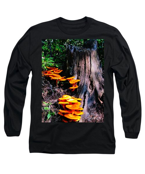 Brilliant Orange Long Sleeve T-Shirt