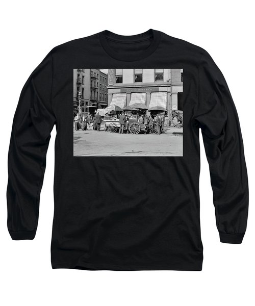 Broad St. Lunch Carts New York Long Sleeve T-Shirt