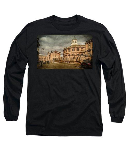 Oxford, England - Broad Street Long Sleeve T-Shirt