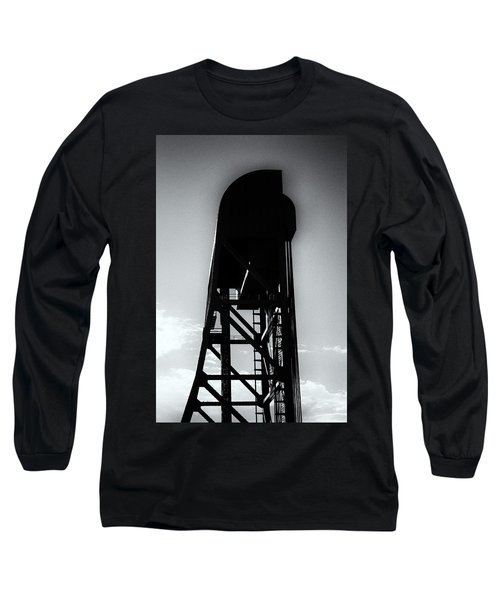 Broadway Bridge North Tower Monochrome Long Sleeve T-Shirt