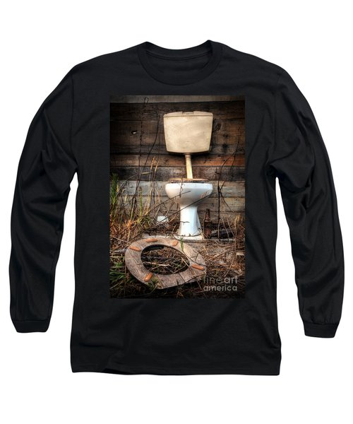 Broken Toilet Long Sleeve T-Shirt