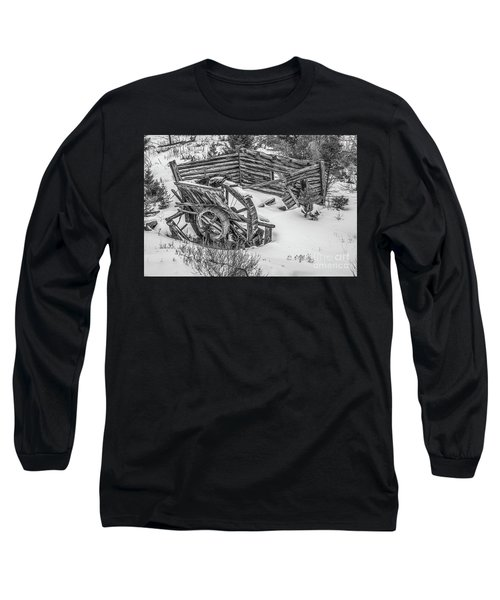 Broken Water Wheel Long Sleeve T-Shirt