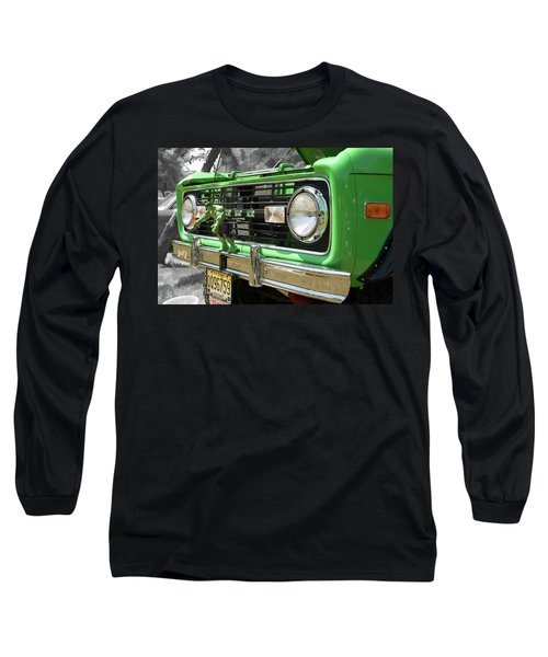 Bronco Front Long Sleeve T-Shirt