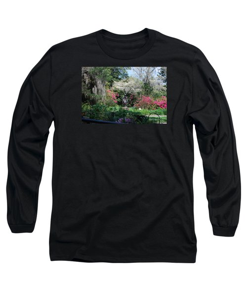 Brookgreen Gardens 2 Long Sleeve T-Shirt by Gordon Mooneyhan