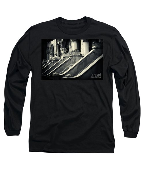 Brooklyn Park Slope Stoops Long Sleeve T-Shirt