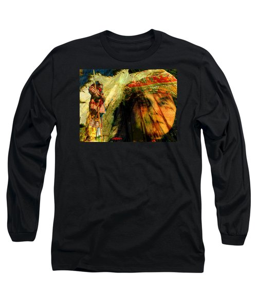 Brother Wind Long Sleeve T-Shirt by Seth Weaver