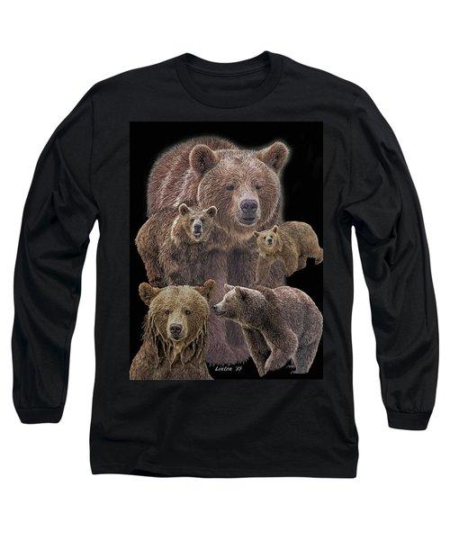 Brown Bears 8 Long Sleeve T-Shirt
