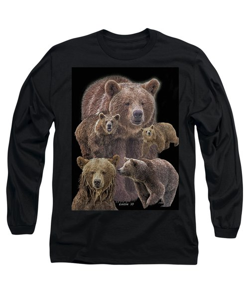 Brown Bears 8 Long Sleeve T-Shirt