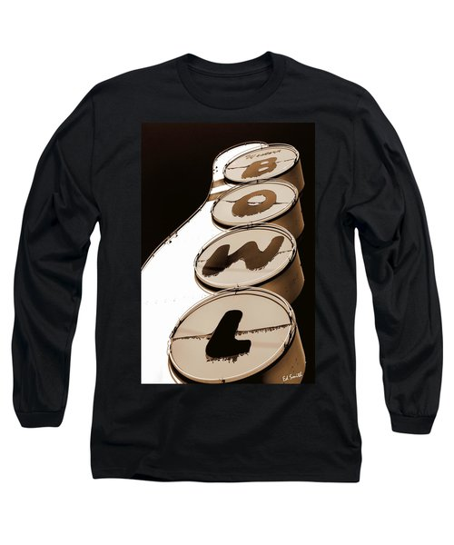 Brown Bowl Long Sleeve T-Shirt
