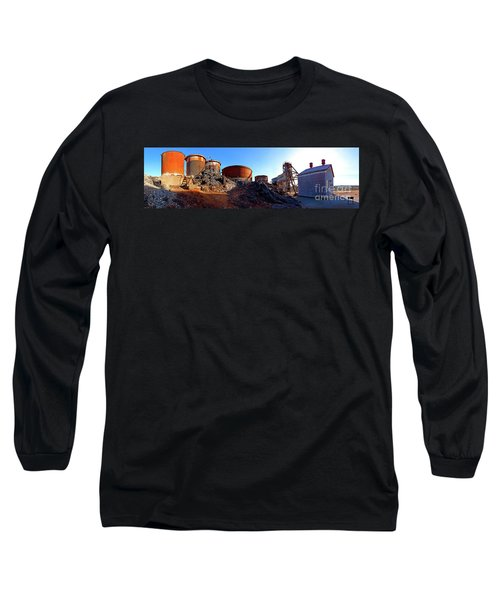 Brownes Shaft Junction Mine  Long Sleeve T-Shirt