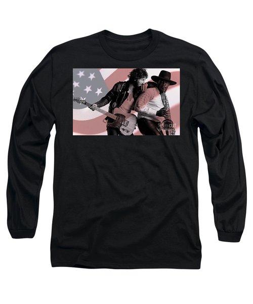 Bruce Springsteen Clarence Clemons Long Sleeve T-Shirt