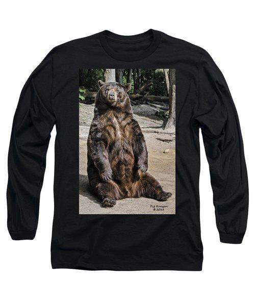 Bruno The Bear Long Sleeve T-Shirt