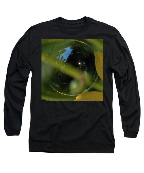 Bubble In The Garden Long Sleeve T-Shirt