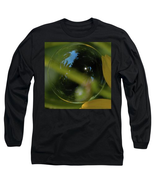 Bubble In The Garden Long Sleeve T-Shirt
