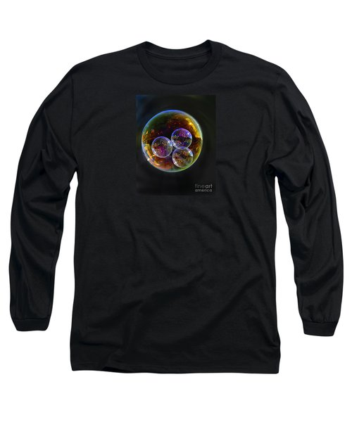 Bubble With Three Long Sleeve T-Shirt