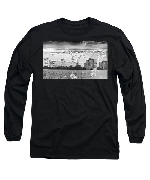 Bubbles And The City Long Sleeve T-Shirt