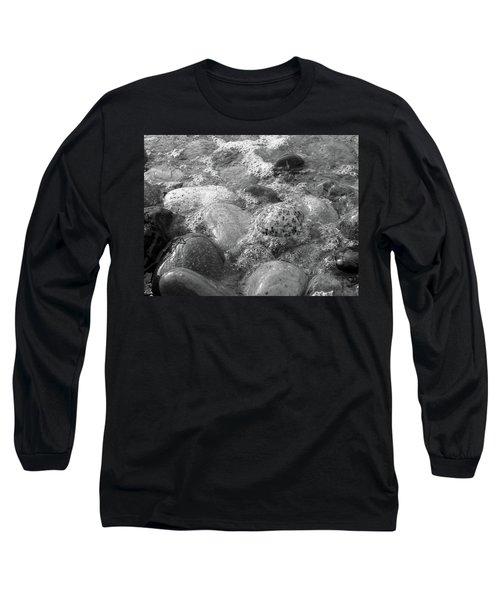 Bubbling Stones Long Sleeve T-Shirt