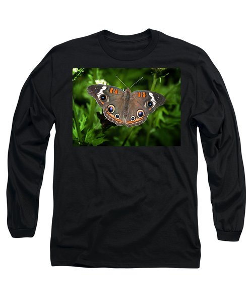 Buckeye Butterfly Long Sleeve T-Shirt
