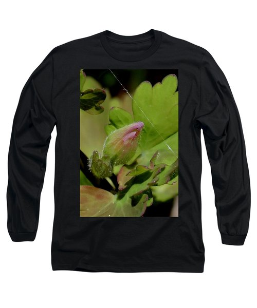 Bud And Spider Silk Long Sleeve T-Shirt