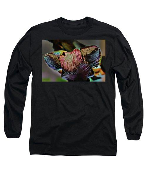 Bud Puppet Ship Long Sleeve T-Shirt