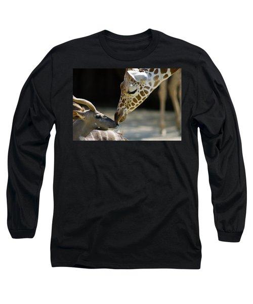 Long Sleeve T-Shirt featuring the photograph Buddies by Steve Stuller